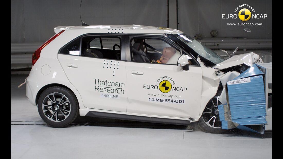 EuroNCAP-Crashtest MG3