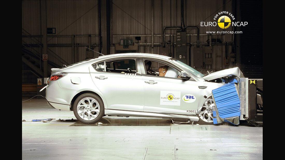 EuroNCAP-Crashtest MG6