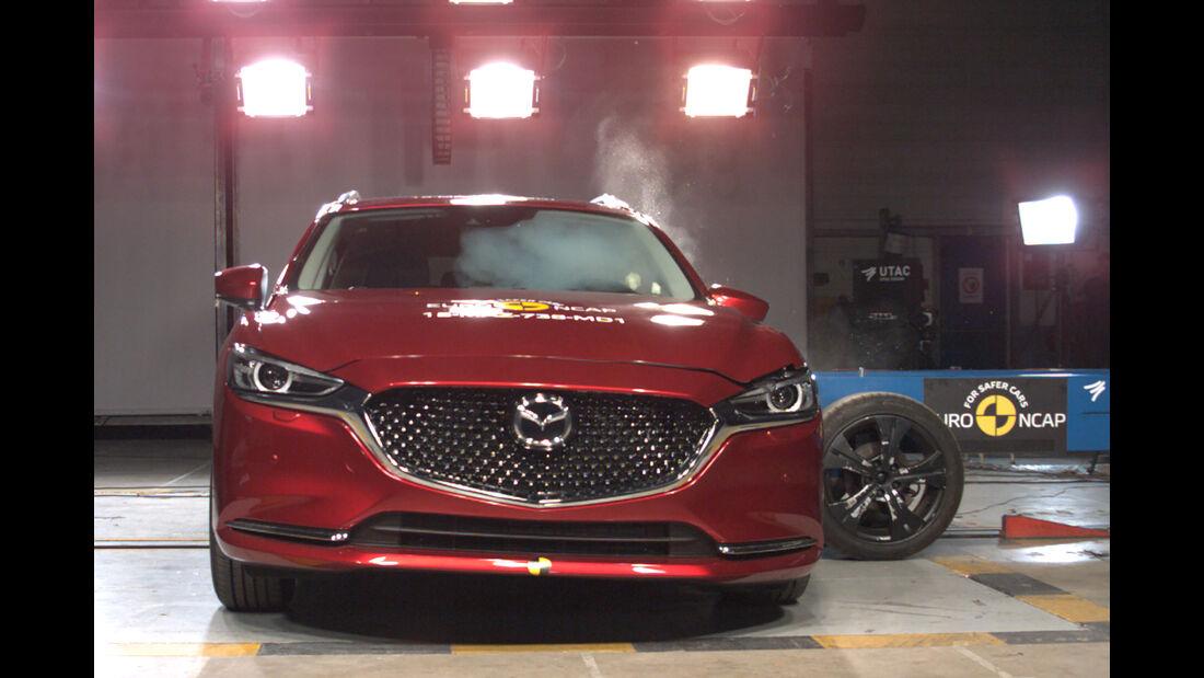 EuroNCAP Crashtest Mazda 6