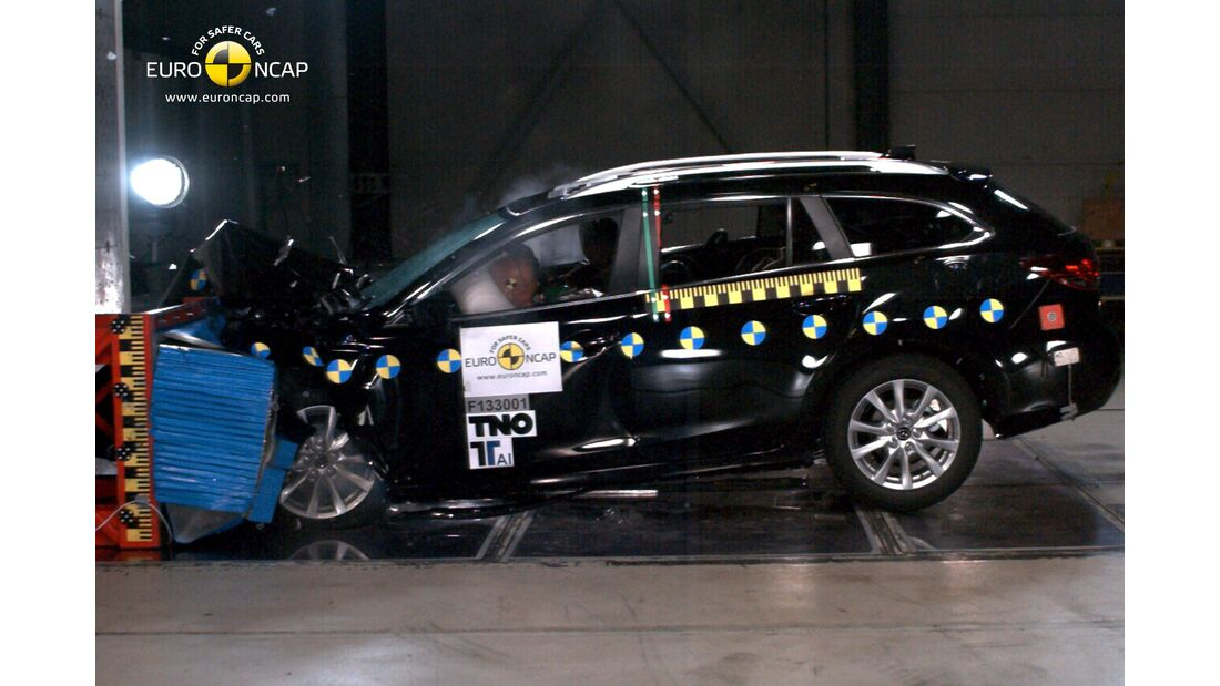 EuroNCAP-Crashtest, Mazda 9