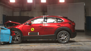 EuroNCAP Crashtest Mazda CX-30