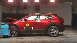 EuroNCAP Crashtest Mazda CX-30