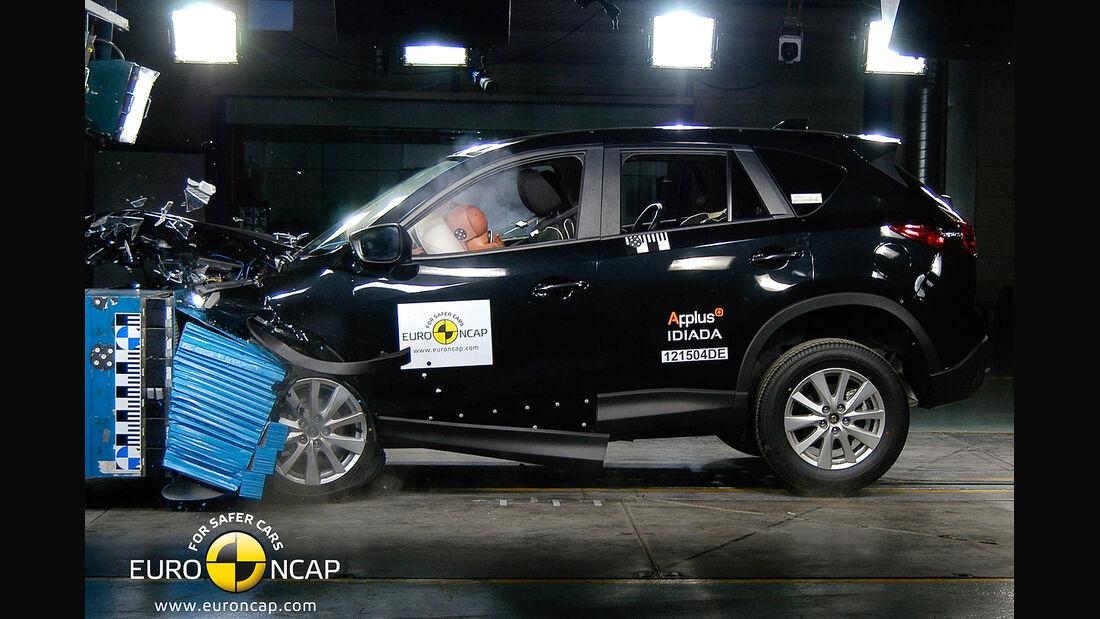 EuroNCAP-Crashtest Mazda CX-5