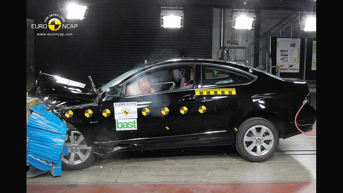 EuroNCAP-Crashtest Mercedes C-Klasse Coupé