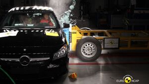 EuroNCAP-Crashtest Mercedes CLA