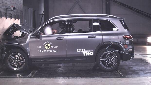 EuroNCAP Crashtest Mercedes GLB