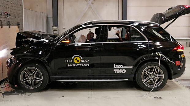 EuroNCAP-Crashtest Mercedes GLE