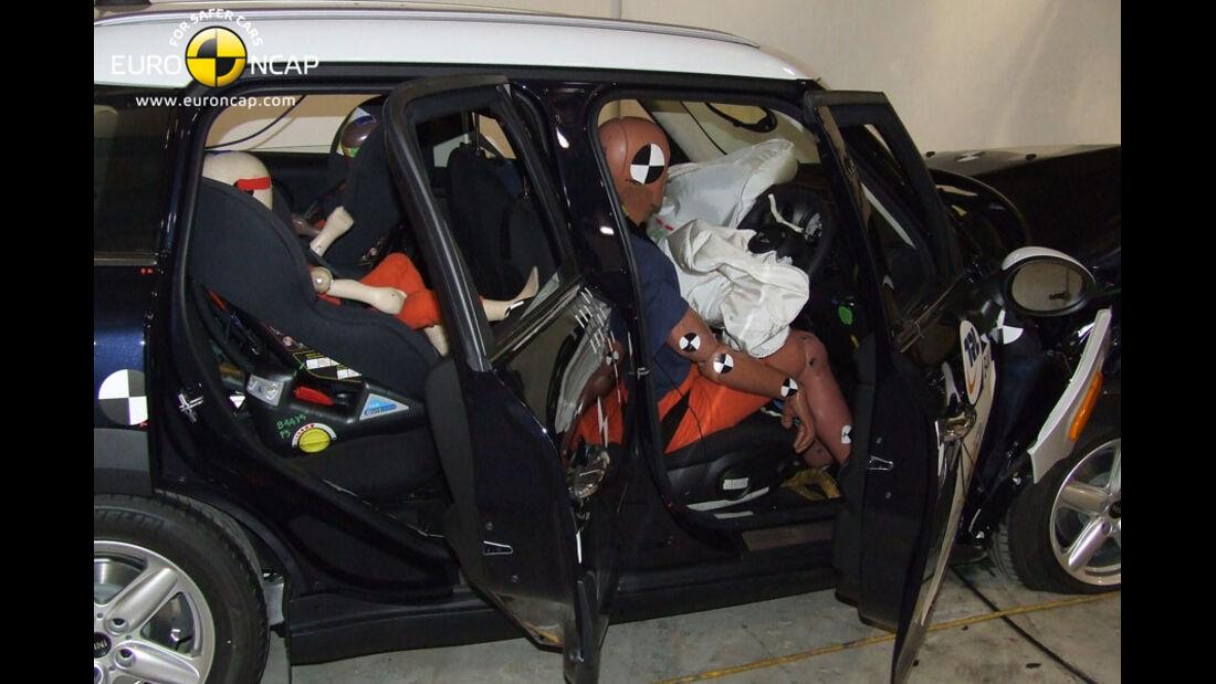 EuroNCAP-Crashtest, Mini Countryman, Fahrer-Crashtest