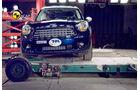 EuroNCAP-Crashtest, Mini Countryman, Pfahl-Crashtest