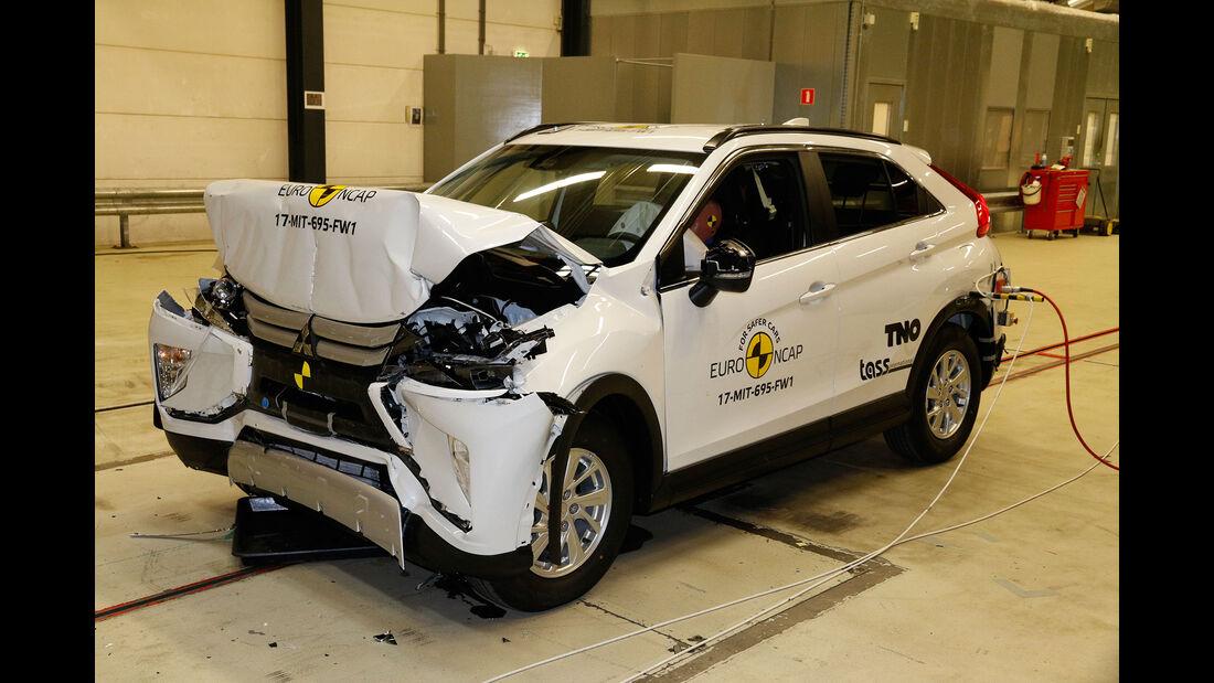 EuroNCAP-Crashtest Mitsubishi Eclipse Cross