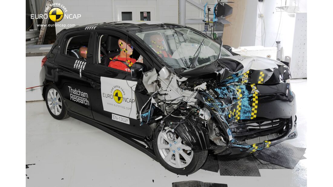 EuroNCAP-Crashtest, Mitsubishi Space Star