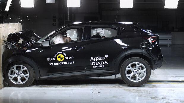 EuroNCAP Crashtest Nissan Juke
