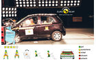 EuroNCAP-Crashtest, Nissan Micra, Frontal-Crashtest