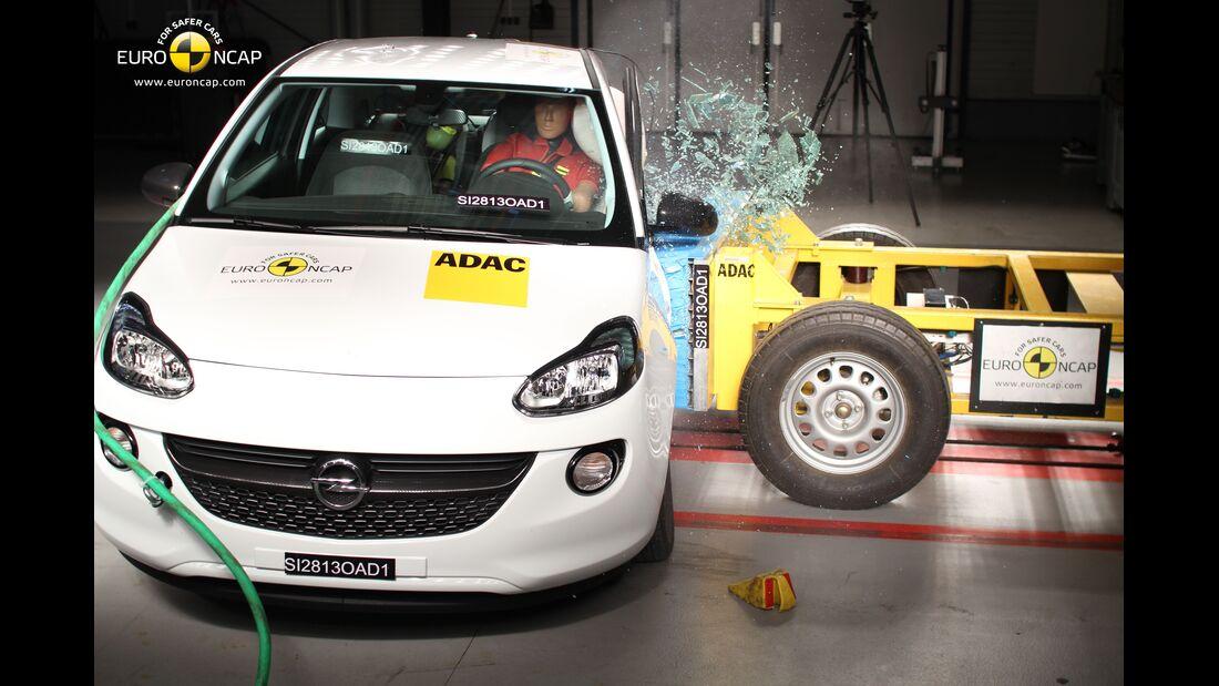 EuroNCAP-Crashtest, Opel Adam