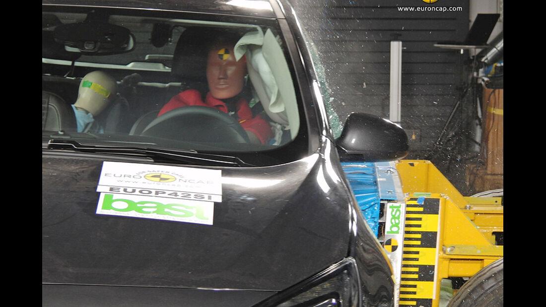 EuroNCAP-Crashtest Opel Astra GTC