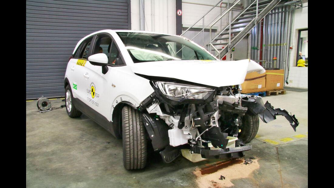 EuroNCAP-Crashtest Opel Crossland X