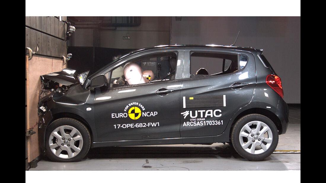 EuroNCAP Crashtest Opel Karl