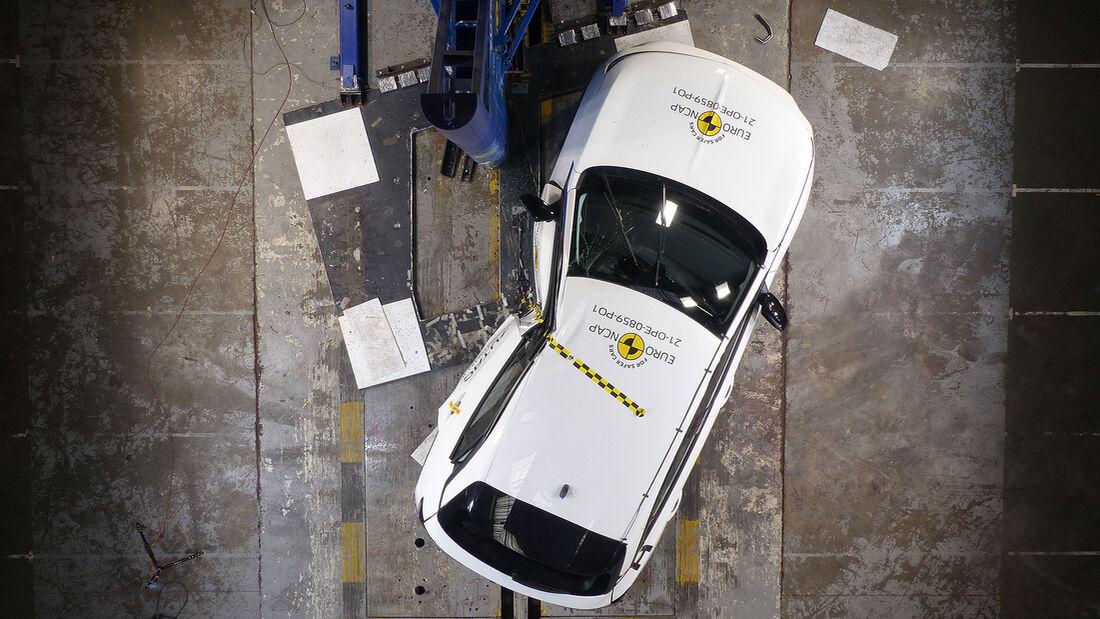 EuroNCAP Crashtest Opel Mokka 2021