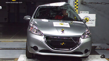 EuroNCAP-Crashtest Peugeot 208