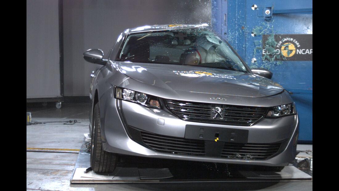 EuroNCAP Crashtest Peugeot 508
