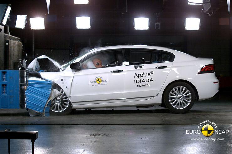 EuroNCAP-Crashtest Qoros 3