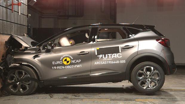 EuroNCAP Crashtest Renault Captur