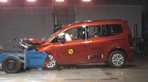 EuroNCAP Crashtest Renault Kangoo 2021