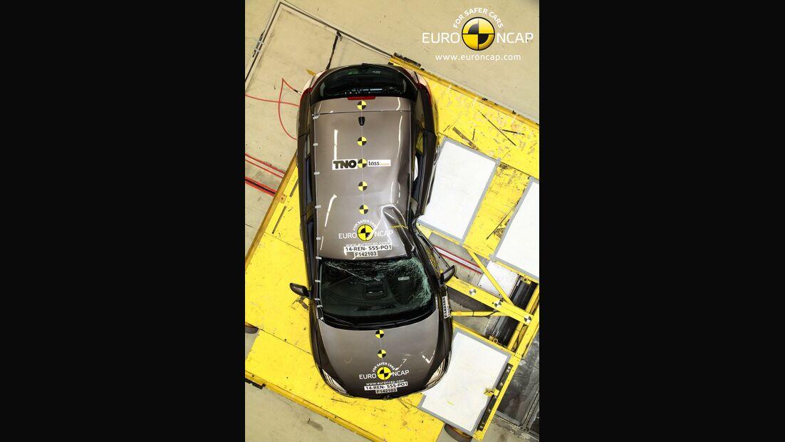 EuroNCAP-Crashtest Renault Megane