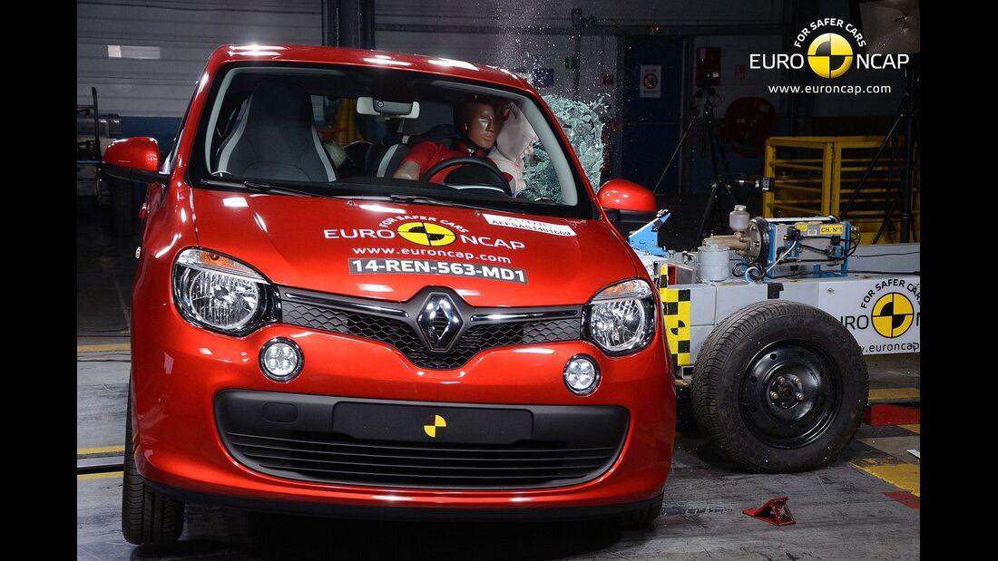 EuroNCAP-Crashtest Renault Twingo