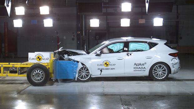 EuroNCAP-Crashtest Seat Leon 2020