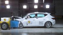 EuroNCAP Crashtest Seat Leon 2021