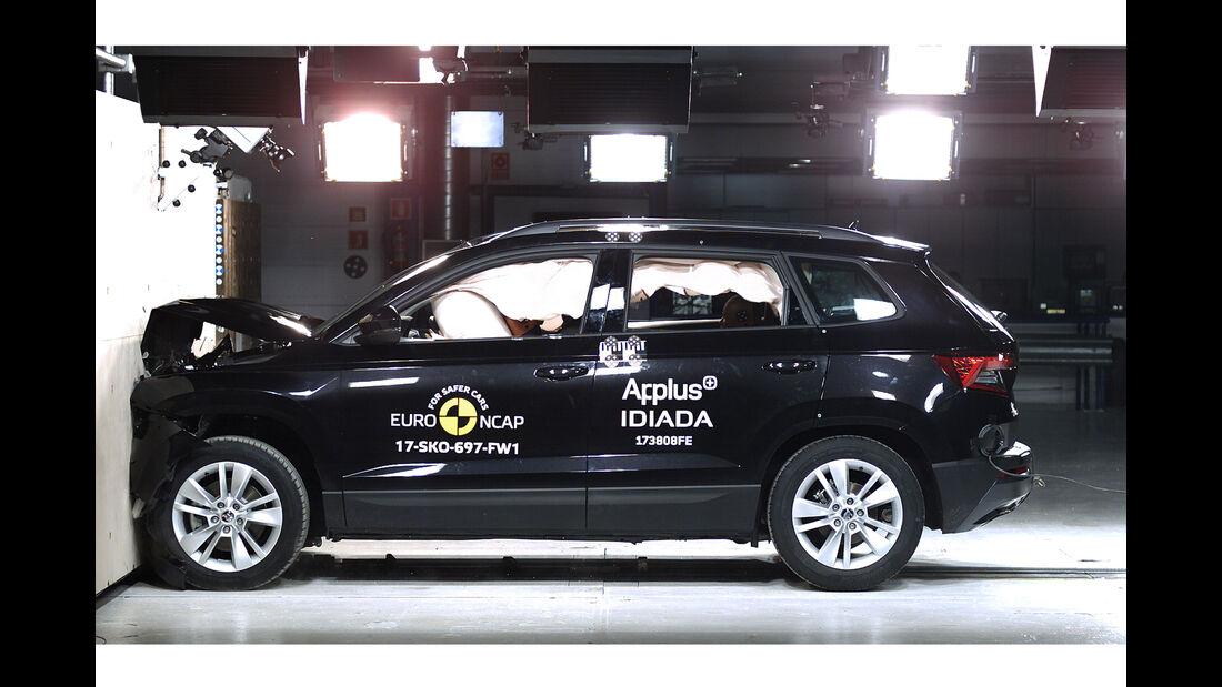 EuroNCAP-Crashtest Skoda Karoq