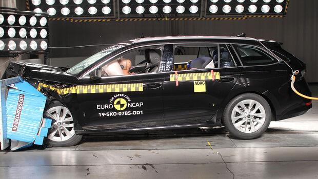 EuroNCAP Crashtest Skoda Octavia