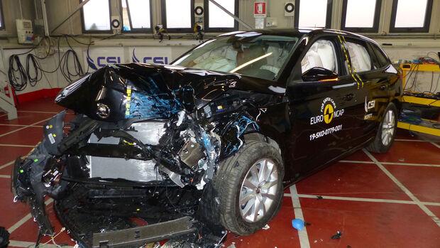 EuroNCAP-Crashtest Skoda Scala