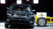 EuroNCAP Crashtest Ssangyong Tivoli