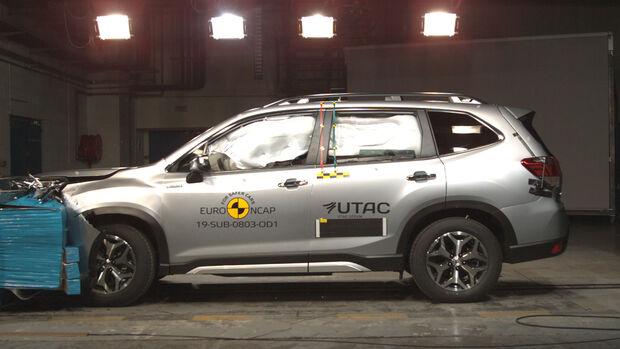 EuroNCAP Crashtest Subaru Forester