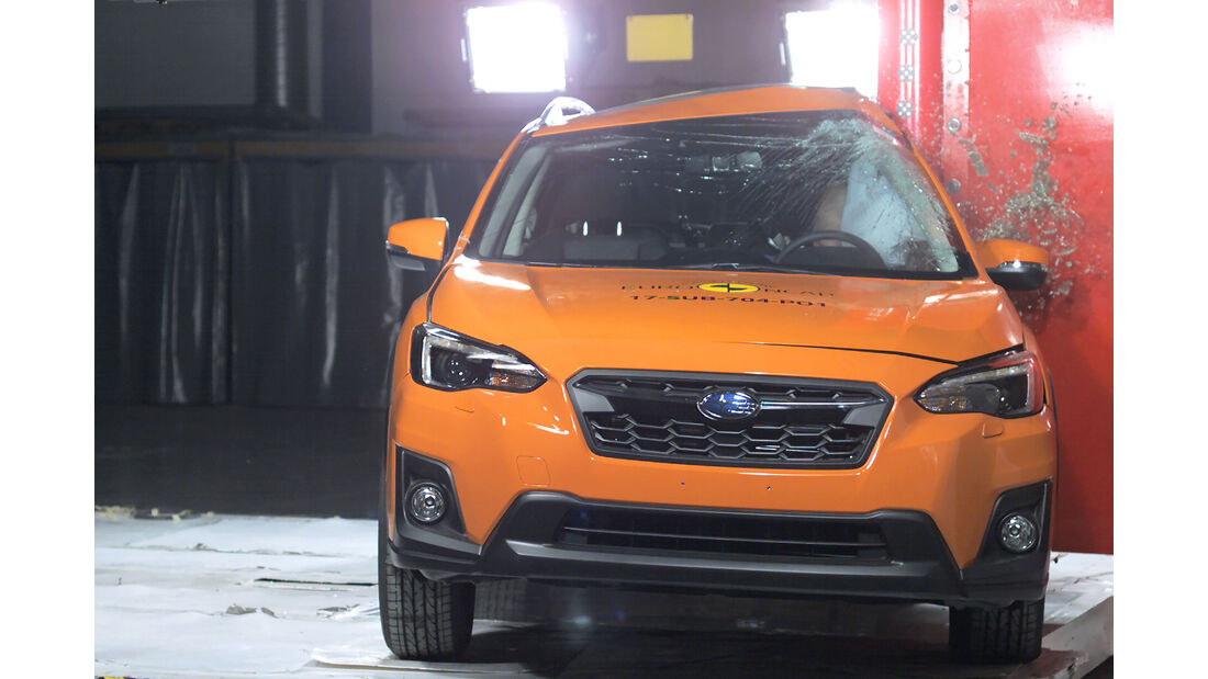 EuroNCAP Crashtest Subaru XV