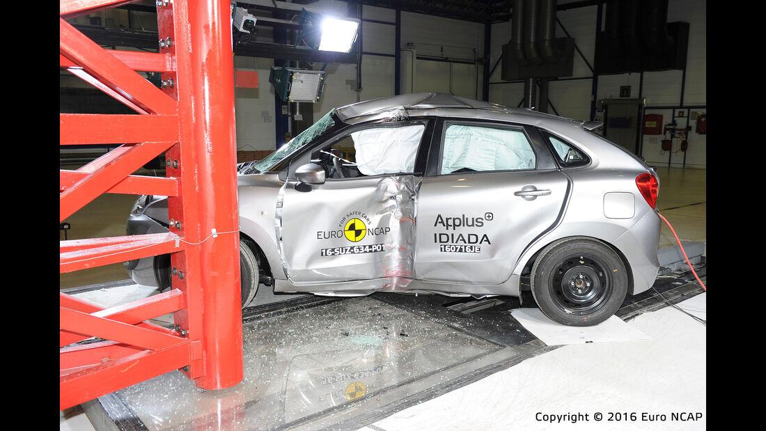 EuroNCAP Crashtest Suzuki Baleno