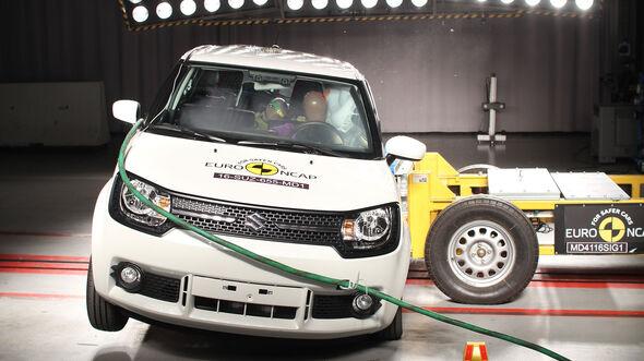 EuroNCAP Crashtest Suzuki Ignis