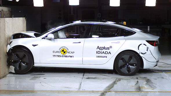 EuroNCAP-Crashtest Tesla Model 3