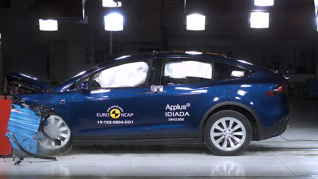 EuroNCAP Crashtest Tesla Model X