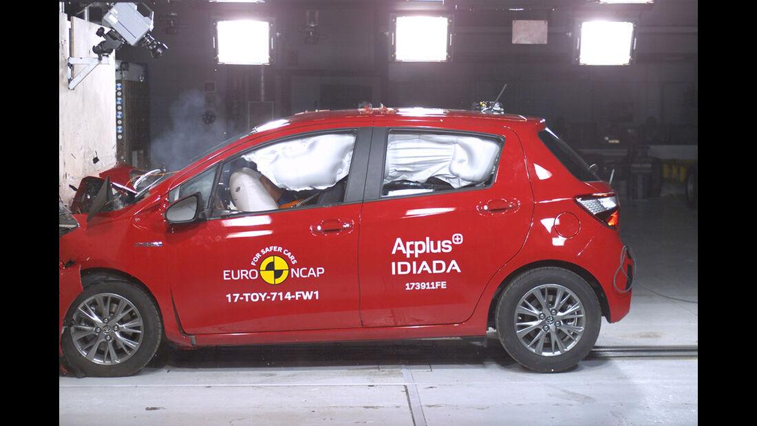 EuroNCAP Crashtest Toyota Yaris