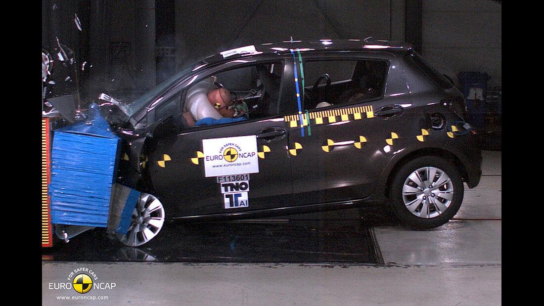 EuroNCAP-Crashtest Toyota Yaris