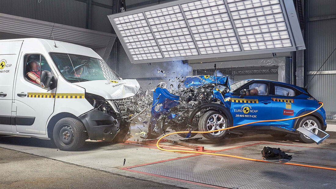 EuroNCAP Crashtest Transporter 2020