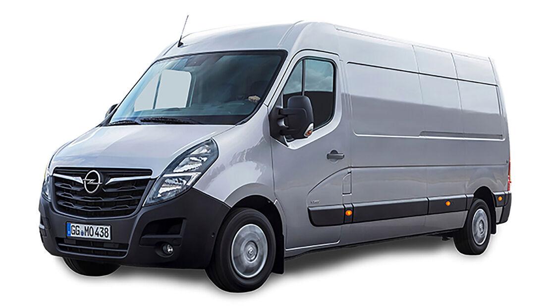 EuroNCAP Crashtest Transporter 2020