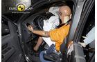 EuroNCAP-Crashtest, VW Amarok, Fahrer-Crashtest