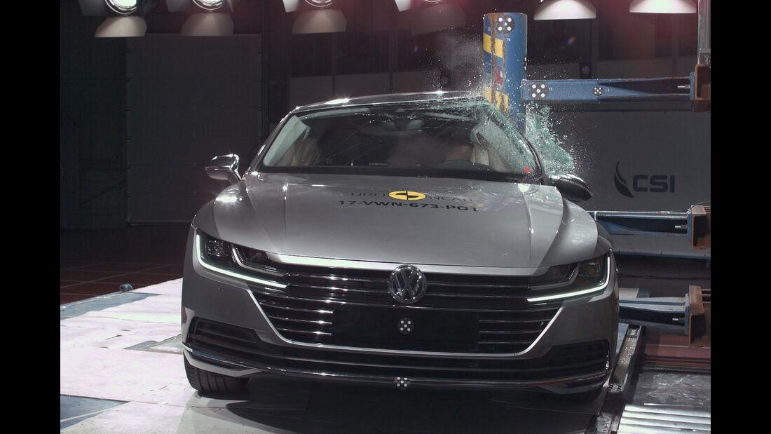 EuroNCAP-Crashtest VW Arteon
