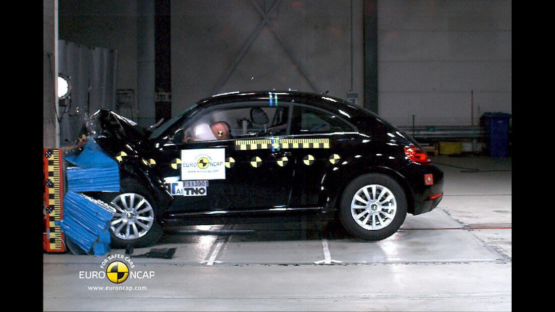 EuroNCAP-Crashtest VW Beetle