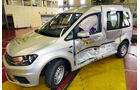 EuroNCAP-Crashtest VW Caddy