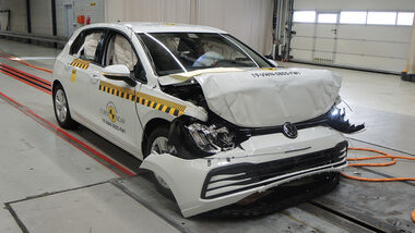 EuroNCAP Crashtest VW Golf